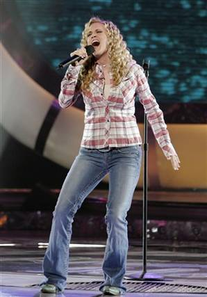 Underwood appeared on the sixth season of American Idol.