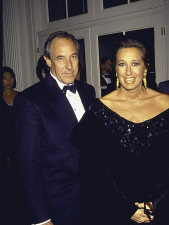 Donna Karan with Boyfriend