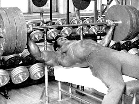 Serge Nubret French Bodybuilder And Actor Pumping Iron
