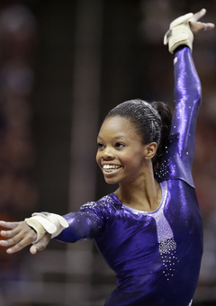 vault gymnastics gabby douglas. Her First Elite Meet Was The 2010 CoverGirl Classic In Chicago, Illinois,  Where Douglas Placed Third On Balance Beam, 6th Vault And 9th All-around Gymnastics Gabby Douglas N