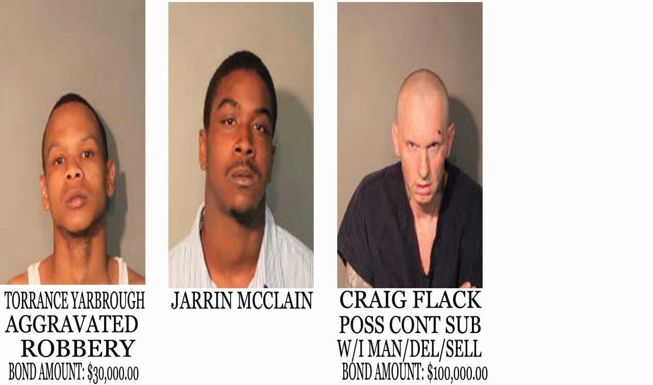 Trasa Robertson Cobern 3 people got busted on may 8,