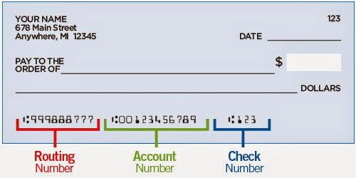 did you know that your bank wiring routing number is different from rh kterrl wordpress com Numbers On Check Regions U.S. Bank Numbers On Checks